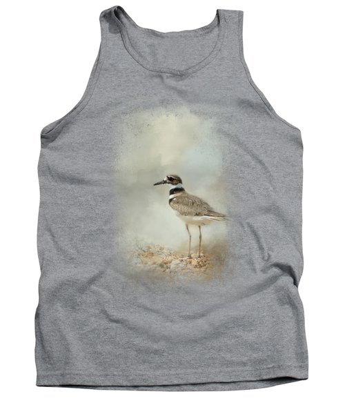 Killdeer On The Rocks Tank Top by Jai Johnson