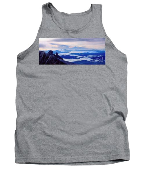 Tank Top featuring the photograph Kinabalu Panorama by Warren Photographic