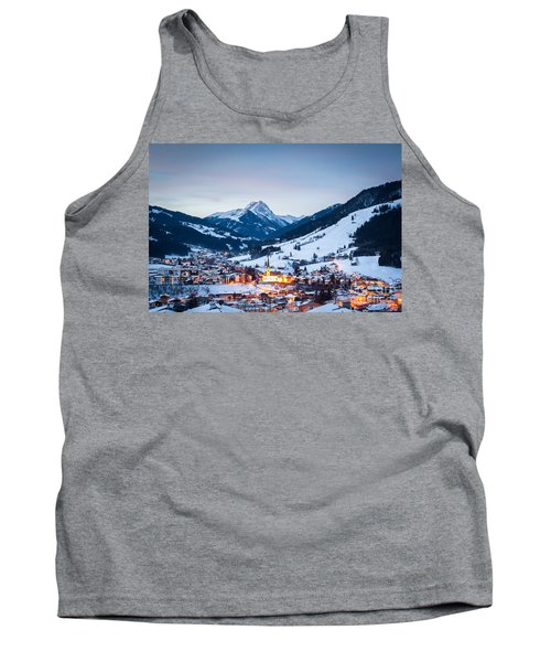 Kirchberg Austria In The Evening Tank Top