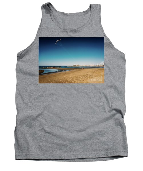 Kitesurf On The Beach Tank Top