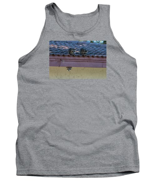 Kits On The Roof Tank Top by Dorothy Cunningham