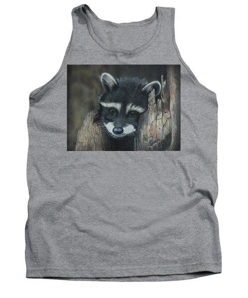 Kit...the Baby Raccoon Tank Top