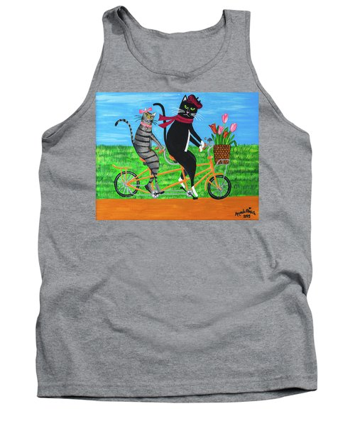 Kitty Cat Outing Tank Top