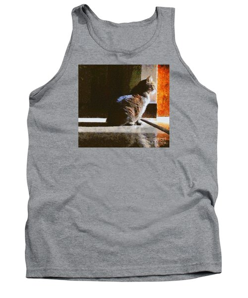 Kitty In The Light Tank Top