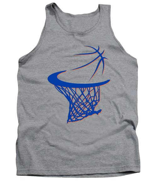 Knicks Basketball Hoop Tank Top