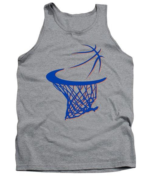 Knicks Basketball Hoop Tank Top