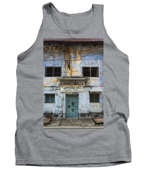 Tank Top featuring the photograph Kochi Spices by Marion Galt
