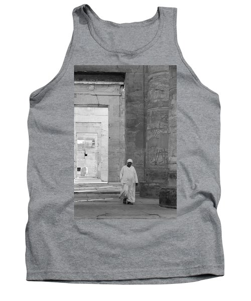 Kom Ombo Temple Tank Top by Silvia Bruno