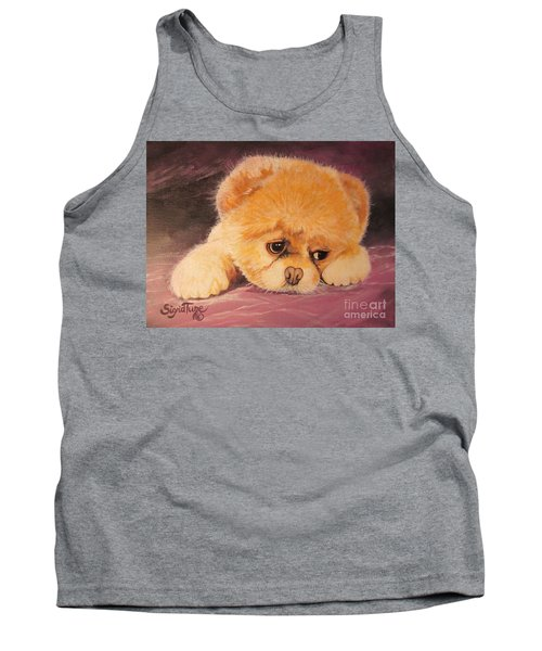 Koty The Puppy Tank Top by Sigrid Tune