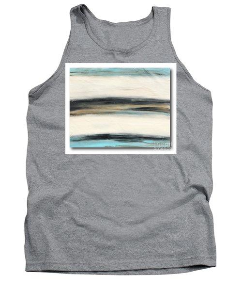 La Jolla #3 Seascape Landscape Original Fine Art Acrylic On Canvas Tank Top