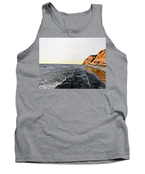 Tank Top featuring the painting La Jolla Shoreline by Kevin Daly