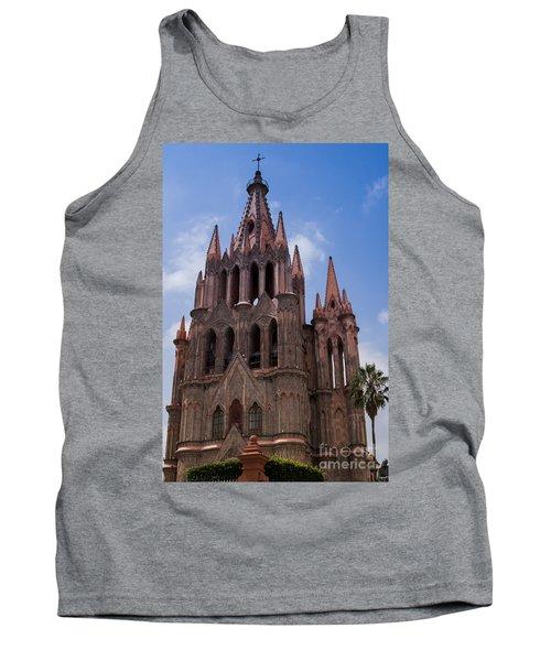 La Parroquia De San Miguel Arcangel In San Miguel Mexico Tank Top