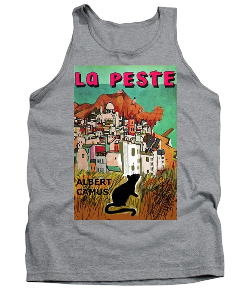 La Peste  Albert Camus Poster Tank Top