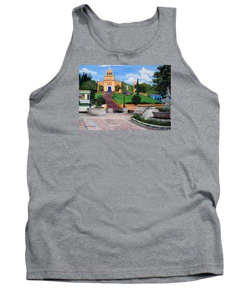 La Plaza De Moca Tank Top by Luis F Rodriguez