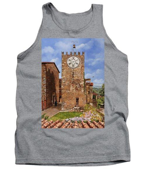 La Torre Del Carmine-montecatini Terme-tuscany Tank Top