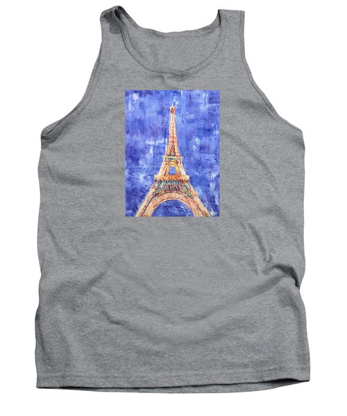 La Tour Eiffel Tank Top