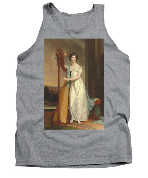 Lady With A Harp Tank Top