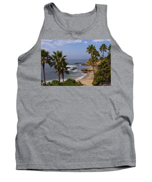 Laguna Beach Coastline Tank Top