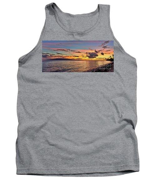 Lahaina Sunset Panorama Tank Top