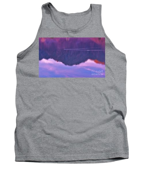 Lake Cahuilla Reflection Tank Top by Michele Penner