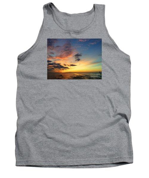Lake Erie Sunset 2 Tank Top