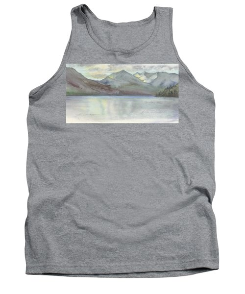 Study For Silver Bay, Lake George Tank Top