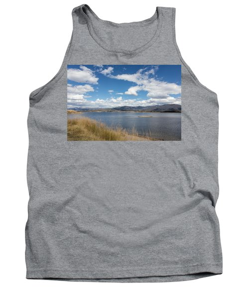 Lake Granby -- The Third-largest Body Of Water In Colorado Tank Top by Carol M Highsmith