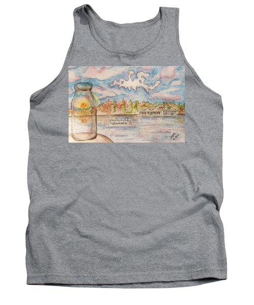 Lake Hopatcong Tank Top by Jason Nicholas