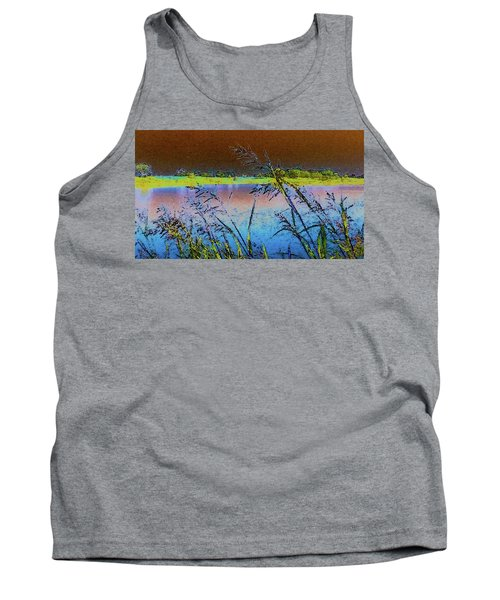 Tank Top featuring the photograph Lake II by Donna G Smith