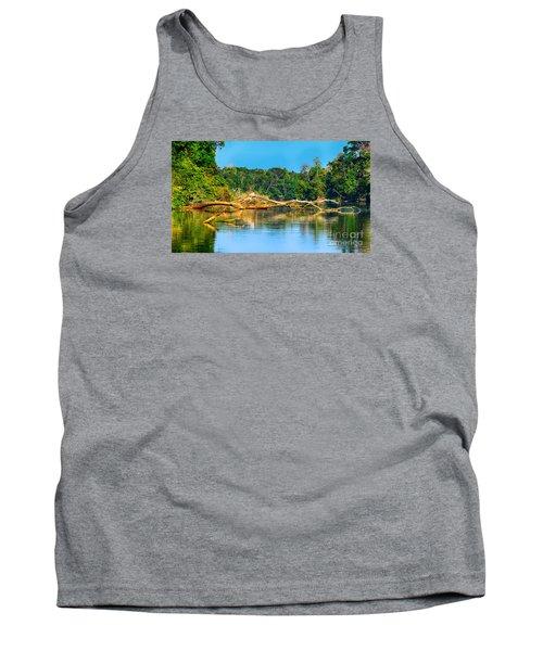 Lake In A Jungle Tank Top