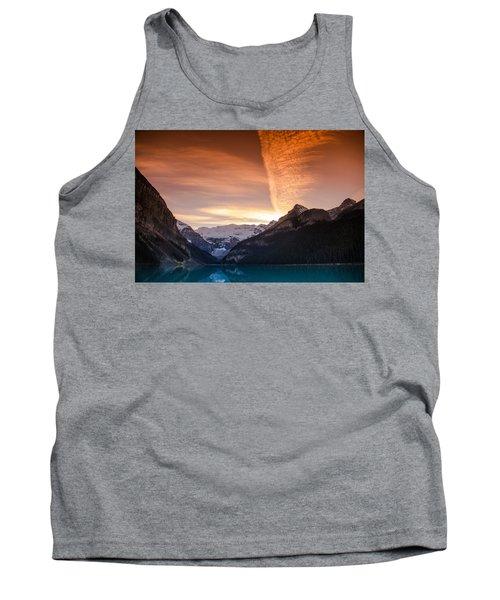 Lake Louise Sunset Tank Top