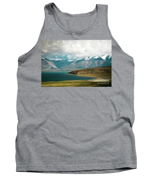 Lake Manasarovar Kailas Yantra.lv Tibet Tank Top