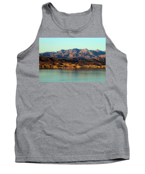 Lake Mead Before Sunset Tank Top