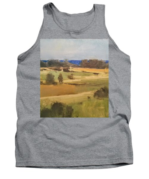 Lake Michigan Across The Field Tank Top