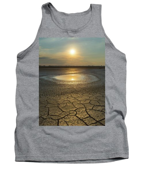 Lake On Fire Tank Top