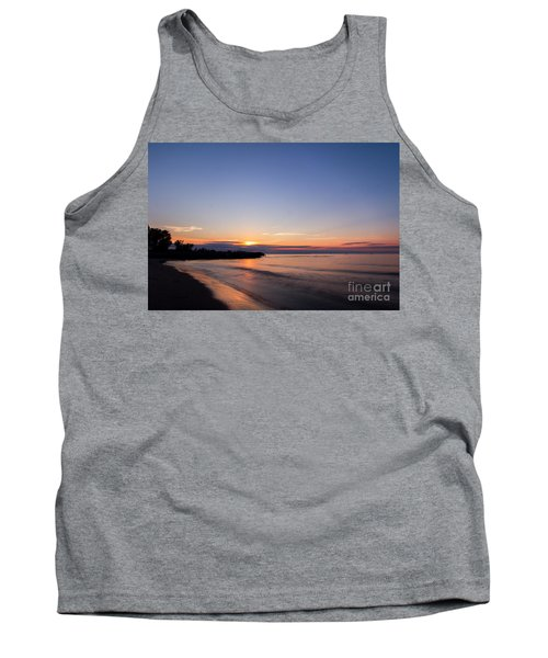 Lake Ontario Beach Sunset Tank Top
