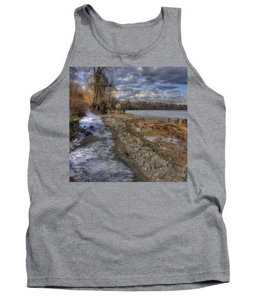Lake Pend D'oreille At Humbird Ruins Tank Top