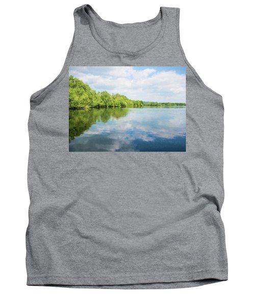 Lake Reflections Tank Top