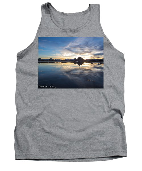 Lake Tahoe Sunset Tank Top