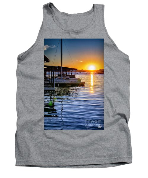 Tank Top featuring the photograph Lake Travis by Walt Foegelle