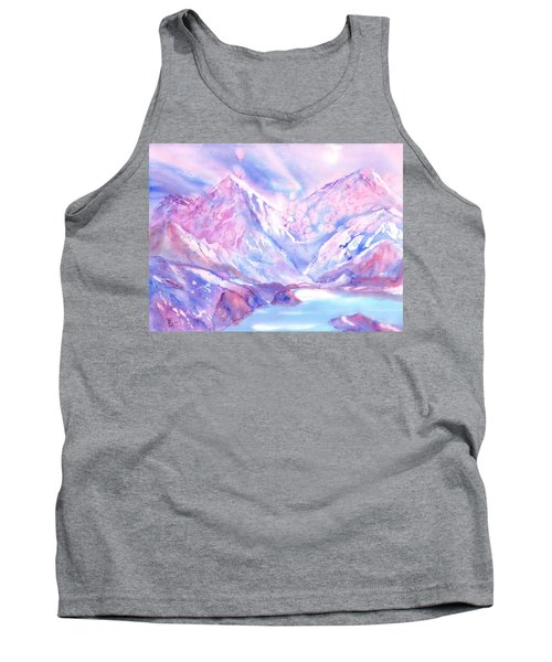 Swiss Mountains - Lake With A View Tank Top