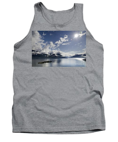 Lake With Islands Tank Top