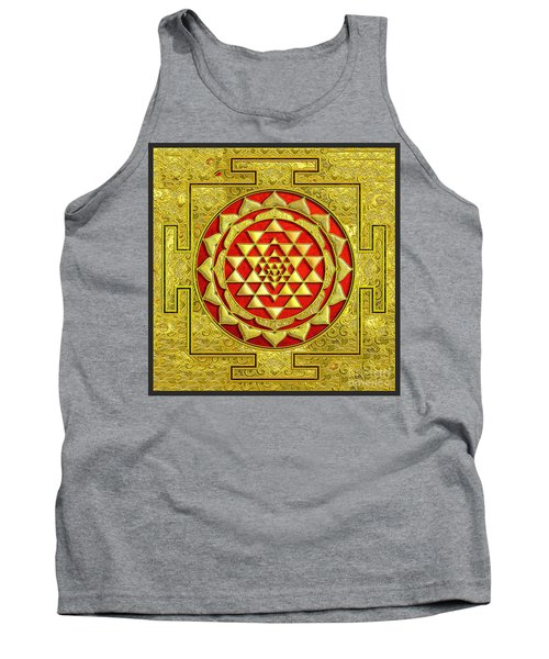 Tank Top featuring the photograph Lakshmi Kubera Yantra by Ragunath Venkatraman