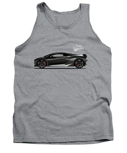 Lamborghini Sesto Elemento Tank Top