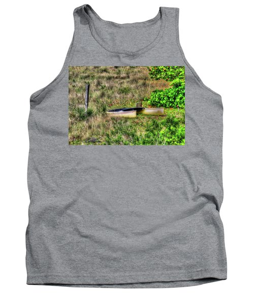 Tank Top featuring the photograph Land Locked by Tom Prendergast