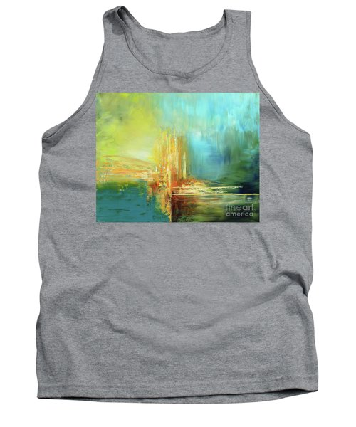 Tank Top featuring the painting Land Of Oz by Tatiana Iliina