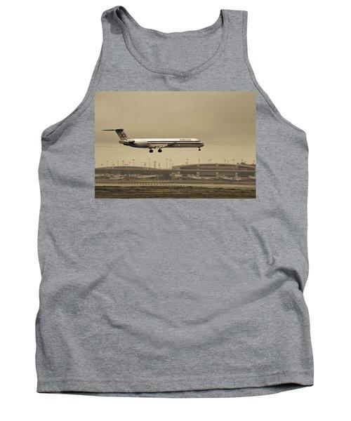 Landing At Dfw Airport Tank Top