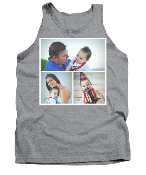 Landon Collage  Tank Top