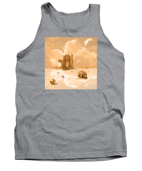 Landscape With Shell Tank Top