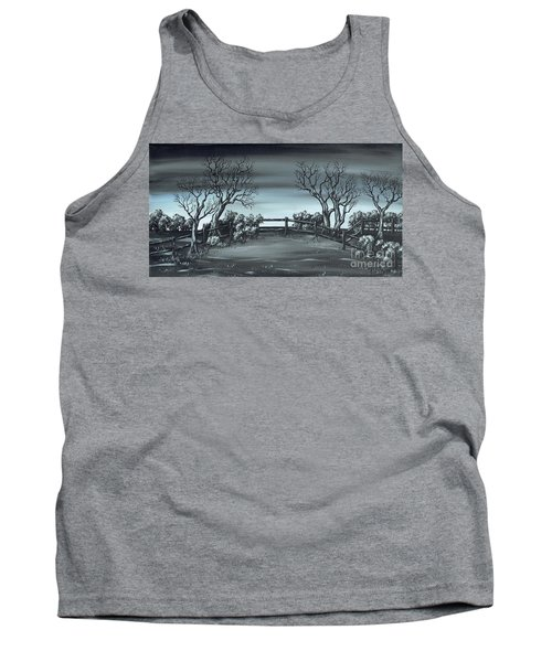 Tank Top featuring the painting Landsend by Kenneth Clarke